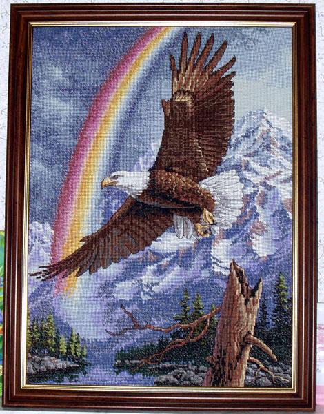 Arm eagle tattoos