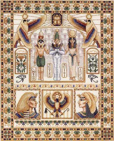 Вышивание египет бисером схемы